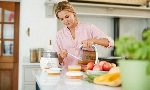 Πώς θα ετοιμάσετε εύκολα υγιεινά, βρεφικά γεύματα