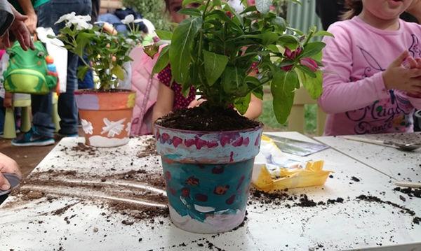 Οι Μικροί Κηπουροί με πινέλα επιστρέφουν στην Τεχνόπολη!