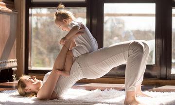 Βρεφική yoga για μητέρες και μωρά 5-18 μηνών