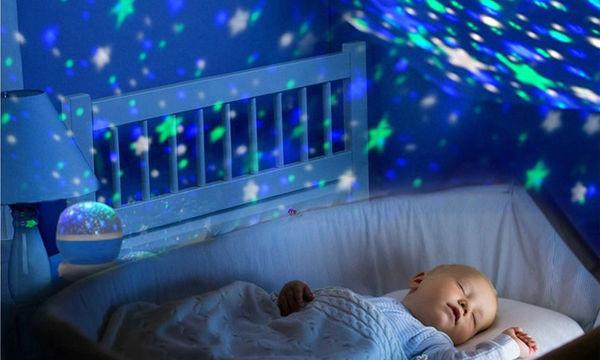 Φωτάκια-προβολάκια νυκτός για το παιδικό δωμάτιο