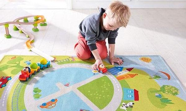 Τι χαλί να διαλέξετε για το παιδικό δωμάτιο