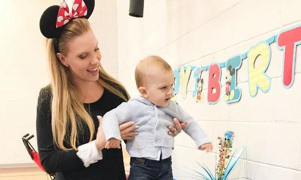Χριστίνα Αλούπη: Ο γιος της έγινε ενός! Δείτε την εντυπωσιακή του τούρτα (pics)