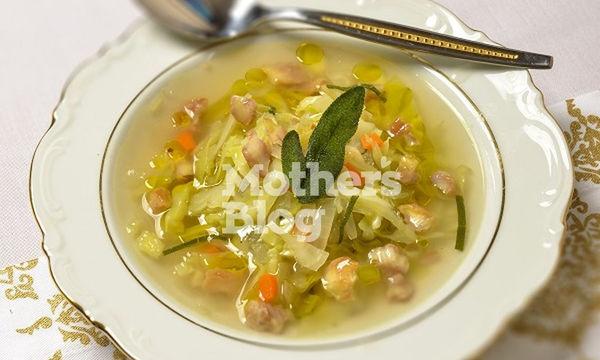 Φθινοπωρινή σούπα λαχανικών με κάστανο από τον Γιώργο Γεράρδο