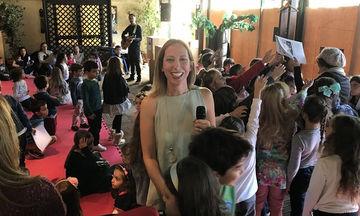 Παρουσίαση του νέου βιβλίου της Μαρίνας Γιώτη «Ρεβιθοκοντoύλης»  στο Sunny Sports Club