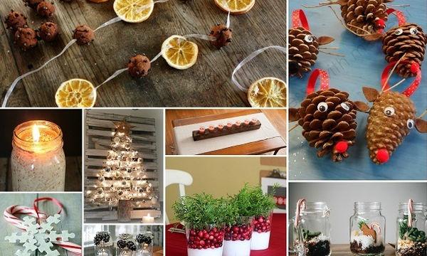 Φτιάξτε μόνες σας 15 εντυπωσιακά χριστουγεννιάτικα στολίδια (vid)