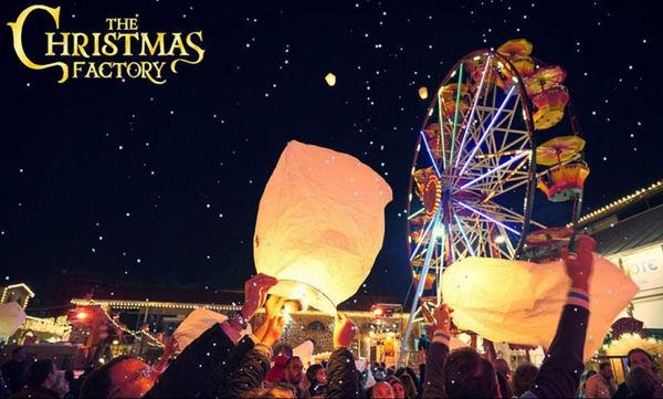 Το «The Christmas Factory» για 5η χρονιά στην Τεχνόπολη!