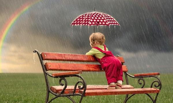 Εσείς πήρατε ομπρέλα για το παιδί σας;