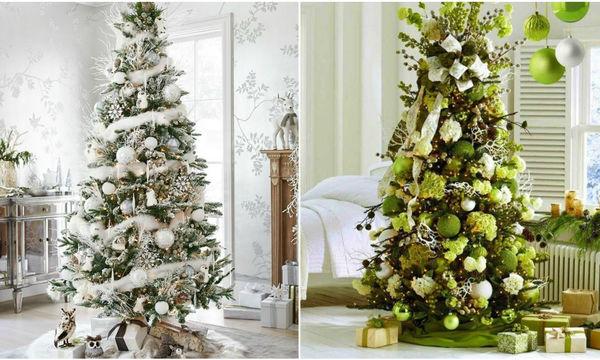 Φτιάξτε το τέλειο χριστουγεννιάτικο δέντρο, σύμφωνα με τις φετινές τάσεις
