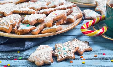 Αυτή είναι η συνταγή για τη βασική ζύμη για τα χριστουγεννιάτικα μπισκότα