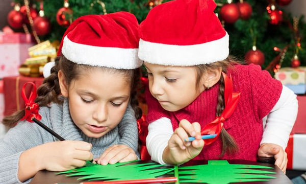 Χριστουγεννιάτικη κάρτα με μια μικρή έκπληξη για τα παιδιά - Αγοράστε την τώρα!