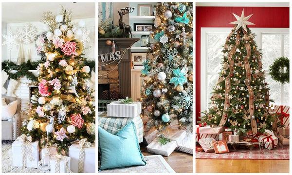 Εξήντα οκτώ κορυφαίες ιδέες για να στολίσετε το Χριστουγεννιάτικο δέντρο