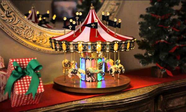 Μουσικό καρουζέλ - Διαχρονικό χριστουγεννιάτικο δώρο