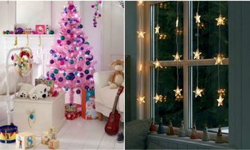 Χριστουγεννιάτικη διακόσμηση: Απίθανες ιδέες για να στολίσετε το παιδικό δωμάτιο