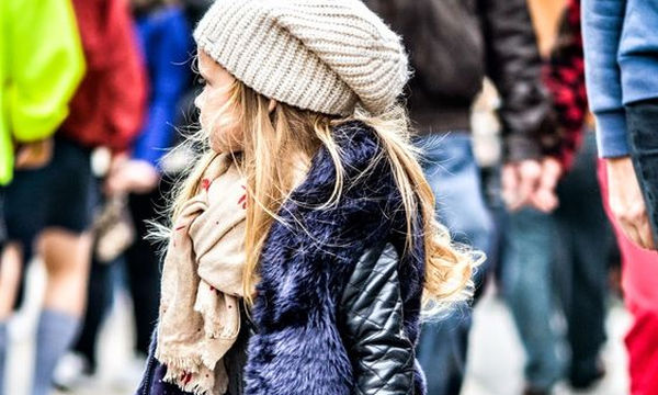 Παιδικό μπουφάν με κουκούλα δύο όψεων για κορίτσια - Πραγματικά ξεχωριστό