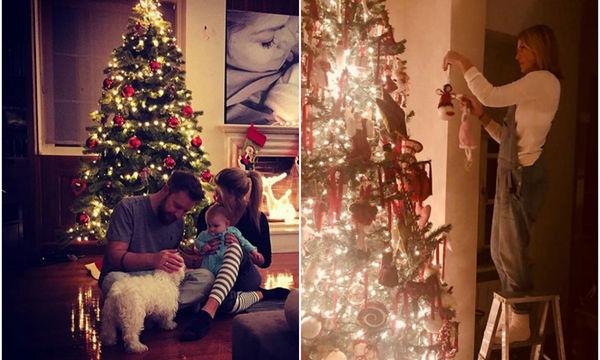 Οι μαμάδες της showbiz στόλισαν και μας δείχνουν τα εντυπωσιακά χριστουγεννιάτικα δέντρα (pics)