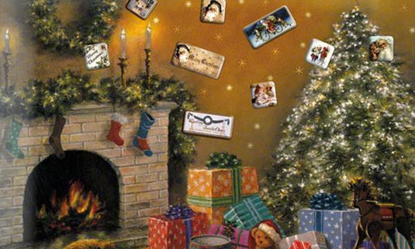 Πρωτότυπο χριστουγεννιάτικο δώρο: Μαγνητικός πίνακας Christmas Tree