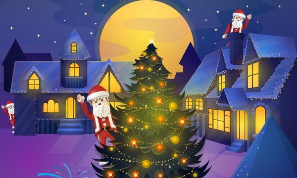 Πού είναι ο Άγιος Βασίλης; Ψάξε-ψάξε και θα τον βρεις!