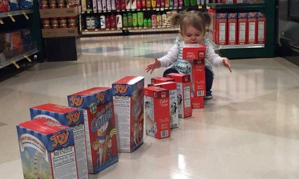 Ψώνια με τα παιδιά: 25 φωτογραφίες που δείχνουν ότι δεν είναι πάντα εύκολη υπόθεση