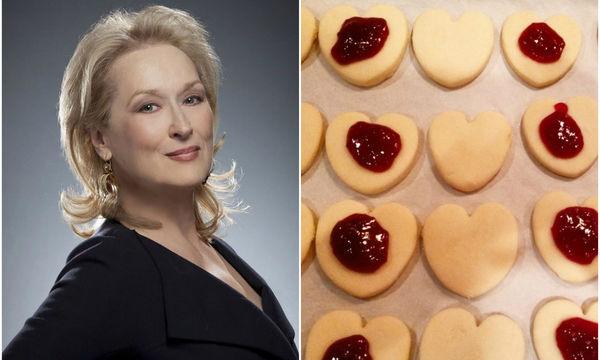 Μπισκότα με μαρμελάδα: Τα αγαπημένα της Meryl Streep