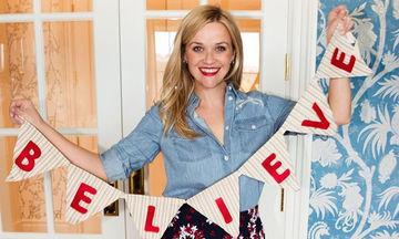 Reese Witherspoon: Η σταρ που απολαμβάνει τα Χριστούγεννα περισσότερο απ' όλους (pics)