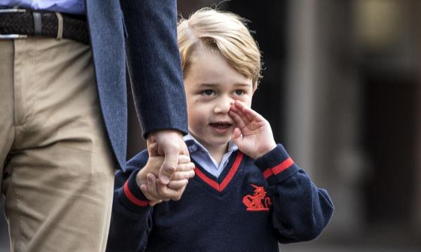Πρίγκιπας George: Ο πρώτος του ρόλος σε θεατρικό έργο στη σχολική γιορτή
