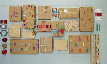 Χριστουγεννιάτικο περιτύλιγμα: 30 υπέροχες ιδέες για να τυλίξετε τα χριστουγεννιάτικα δώρα