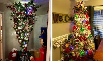 Αυτός είναι ο απόλυτος χριστουγεννιάτικος στολισμός σπιτιού - Σε κάθε δωμάτιο κι ένα δέντρο!
