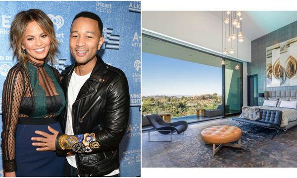 Chrissy Teigen - John Legend: Η χλιδή και η θέα του σπιτιού τους, σου «κόβουν» την ανάσα (pics)