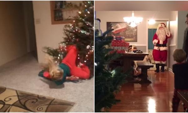 Πολύ γέλιο: Οι πιο αστείες χριστουγεννιάτικες πτώσεις (vds)