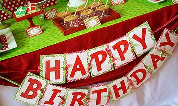 Απίθανες ιδέες για να οργανώσετε το τέλειο παιδικό πάρτι γενεθλίων, τα Χριστούγεννα (pics)