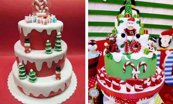 Τριάντα ιδέες για παιδικές χριστουγεννιάτικες τούρτες
