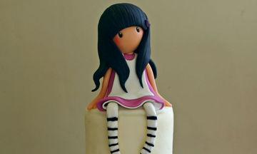 Πάρτι Gorjuss Santoro; 30 υπέροχες ιδέες για τούρτες με την αγαπημένη φιγούρα των κοριτσιών