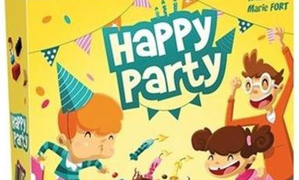 Kaissa Επιτραπέζιο παιχνίδι για παιδιά Happy Party