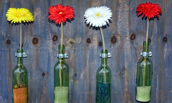 Ξεχάστε το κλασικό βάζο! 20 πρωτότυπες ιδέες να διακοσμήσετε το σπίτι με λουλούδια (pics)