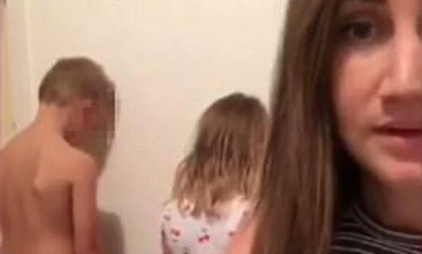 Δείτε τι σκέφτηκε μια νταντά για να κρατήσει τα παιδιά ήσυχα στο σπίτι (video)