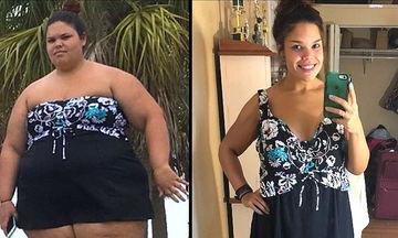 Μια 21χρονη κατάφερε να χάσει 80 κιλά και αποκαλύπτει τον τρόπο