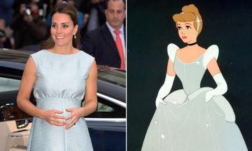 Οκτώ εμφανίσεις της Kate Middleton που είναι ολόιδιες με τις πριγκίπισσες της Disney (pics)