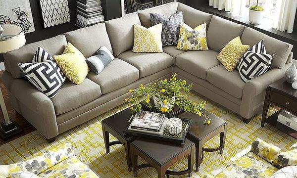 Διακοσμητικά μαξιλάρια - Τριάντα ιδέες για έξτρα στιλ στο καθιστικό σας