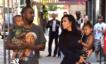 Tribute στην οικογένεια της Kim Kardashian και του Kanye West μετά τον ερχομό της κόρης τους (pics)