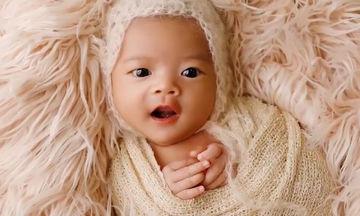 Καλλιτεχνική φωτογράφιση νεογέννητου- Δείτε πώς γίνεται (βίντεο)