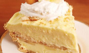 Συνταγή για cheesecake μπανάνας χωρίς ψήσιμο