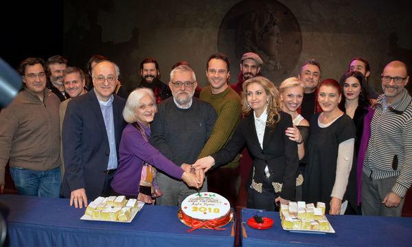 Ελληνικός Κόσμος: Κοπή πίτας για τη θεατρική παράσταση «Μέγας Αλέξανδρος»