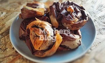 Στριφτά πιτάκια με σοκολάτα και φυστίκια από τον Γιώργο Γεράρδο