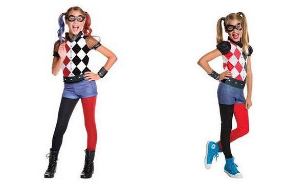 Αποκριάτικη στολή για κορίτσια: Harley Quinn