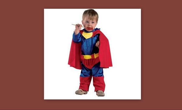 Αποκριάτικη στολή για μωρό: Σούπερ Μωρό Bebe