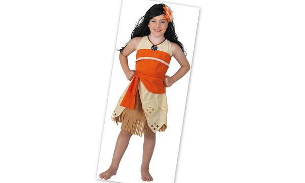 Αποκριάτικη στολή για κορίτσια: Βαϊάνα