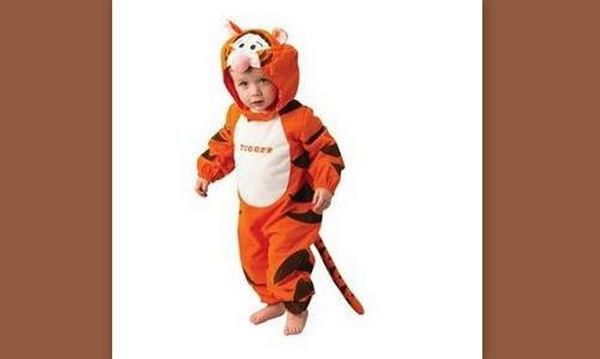Αποκριάτικη στολή για μωρά: Τιγράκι