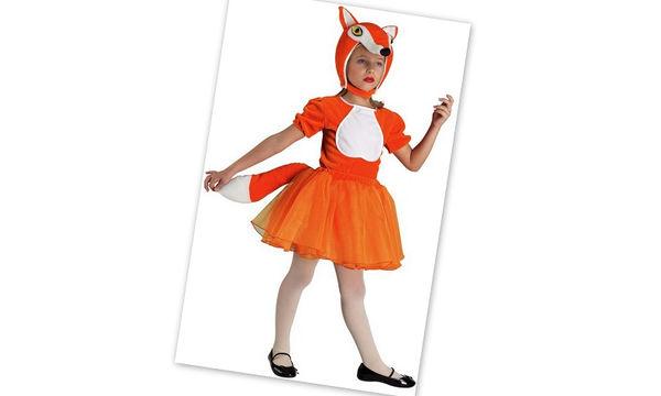Αποκριάτικη στολή για κορίτσια: Μικρή αλεπουδίτσα