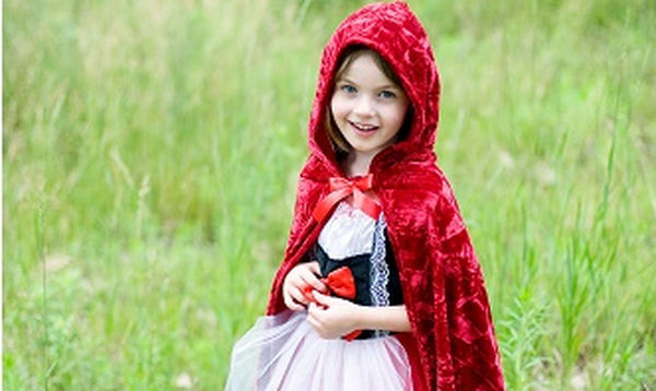 Αποκριάτικη στολή για κορίτσια: Κοκκινοσκουφίτσα
