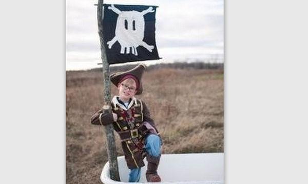 Αποκριάτικη στολή για αγόρια: Καπετάνιος